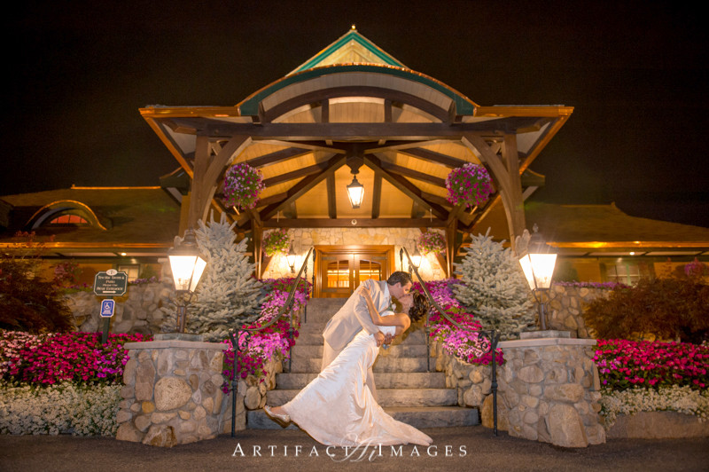 Romantic Main Entrance to Tewksbury Country Club