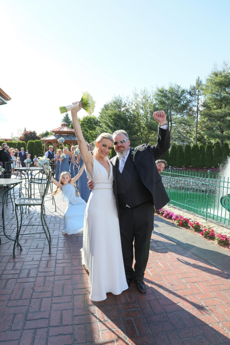 Gazebo Wedding Tewksbury Country Club June 2019 Benoit & McCarthy Photography