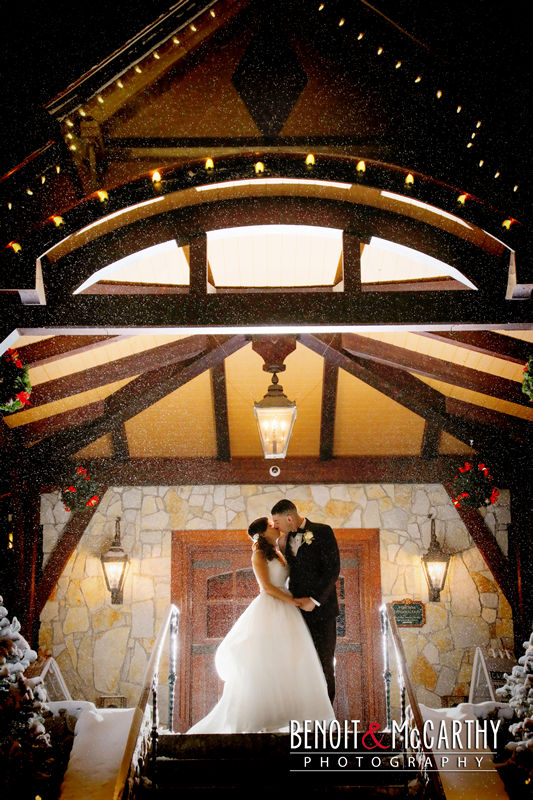 Tewksbury Country Club Winter Wedding
