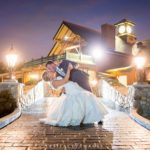 Romantic Couple on the Stone Bridge at Tewksbury Country Club