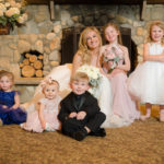 Bride with Children at Tewksbury Country Club