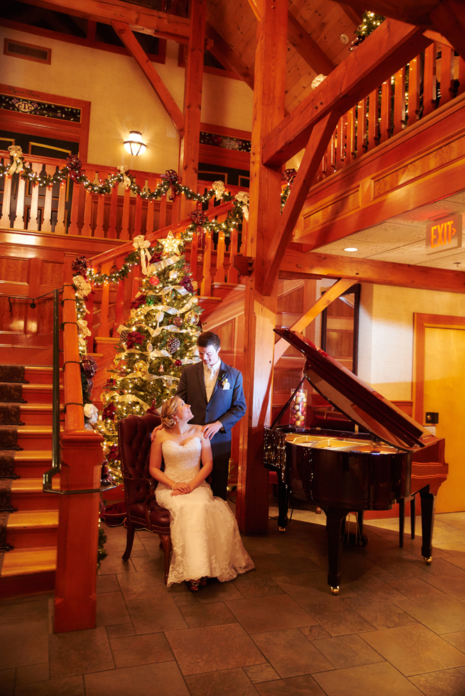 Christmas Wedding at Tewksbury Country Club