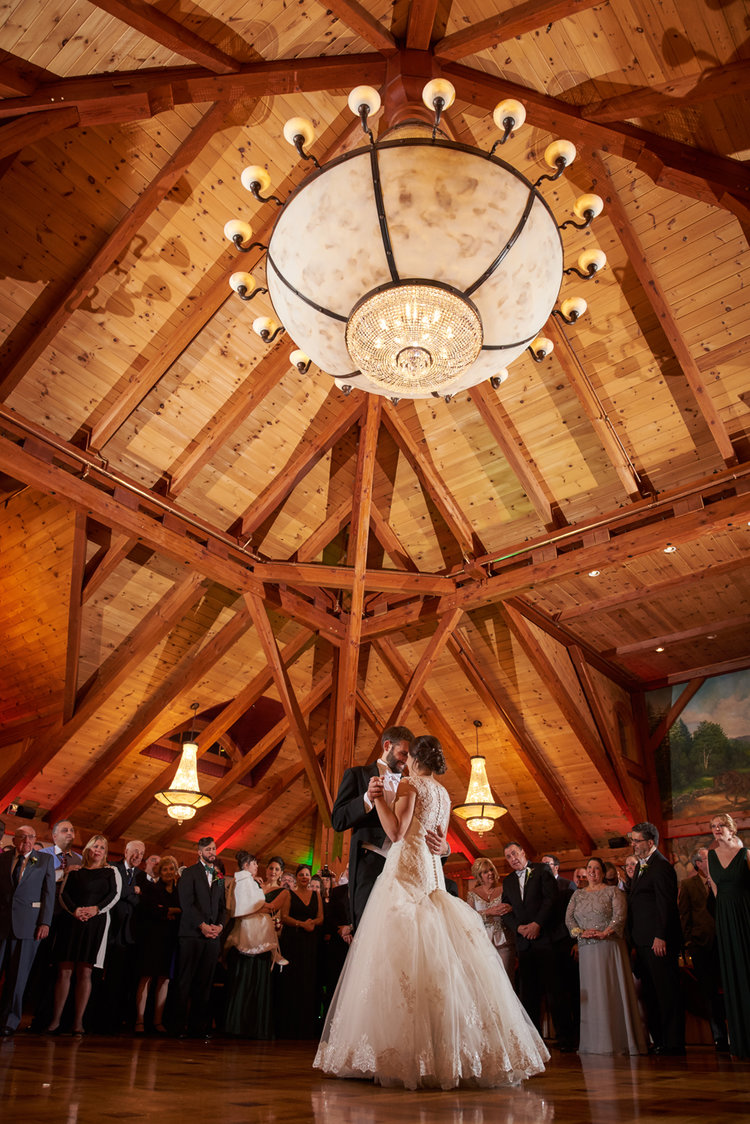 First Dance: a Wedding in the Grand Sequoia Ballroom at Tewksbury Country Club