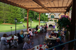 Patio Dining at Tewksbury Country Club