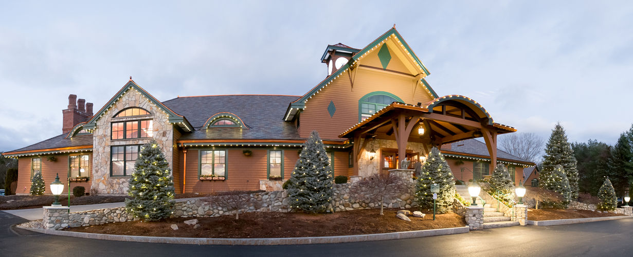 Tewksbury Country Club in December by Artifact Images